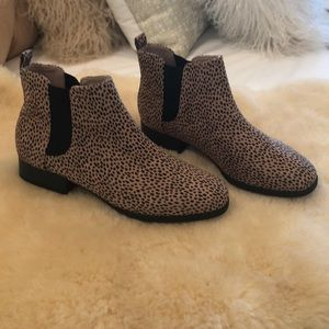 ON Chelsea printed animal boots